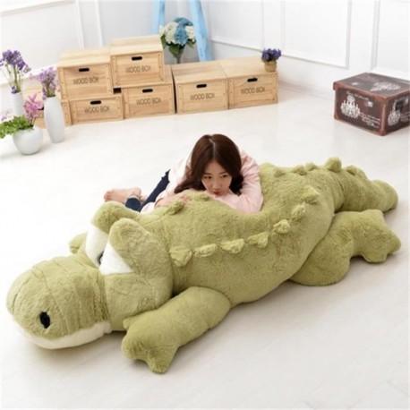 peluche geante crocodile