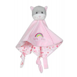 doudou plat chat rose gipsy