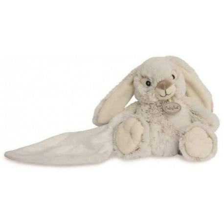 doudou lapin mouchoir