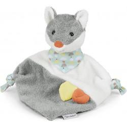 doudou renard gris