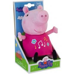 peluche peppa pig musicale